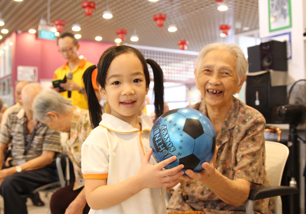 PROMOTING INTERGENERATIONAL HARMONY