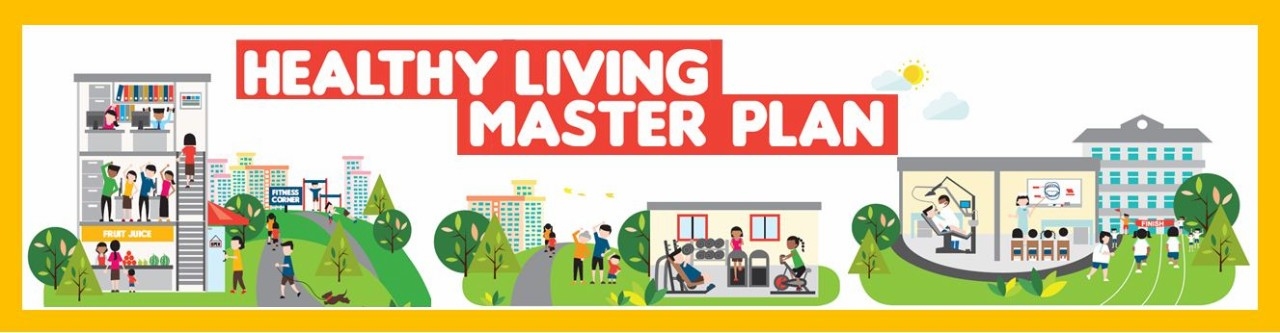 Healthy LIving Master Plan Banner