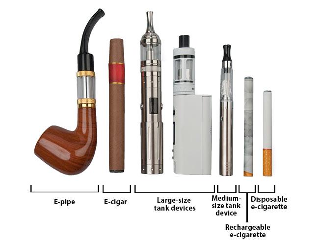 E-Cigarettes and Vaporisers